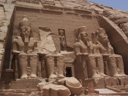 Picture of the Gret Temple at Abu Simbel