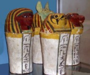 Picture of canopic jars