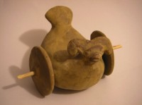Picture of children's toy found in Mohenjo-daro