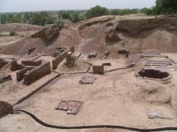 Picture of Harappa ruins