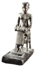 Picture of a statue of Imhotep