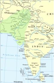 Location of Indus Valley Civilization