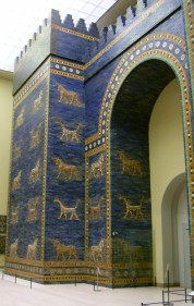 Reconstruction of Ishtar Gate in the Pergamon Museum, Berlin