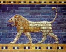 Picture of the Ishtar Lion