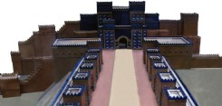 Model of the Ishtar Gate, Pergamon Museum, Berlin
