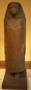 Statue of vizier Neferkare Iymeru uder pharaoh Sobekhotep IV