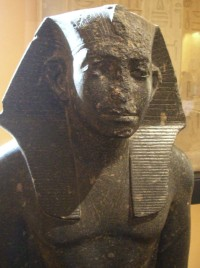 Statue of Pharaoh Senusret III