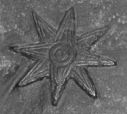 Eight-pointed star, symbol of the goddess Ishtar