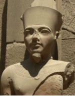 Statue of Tutankhamun - the Boy King