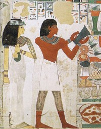 Ancient Egyptian Wall Painting, Tomb Of Nakht